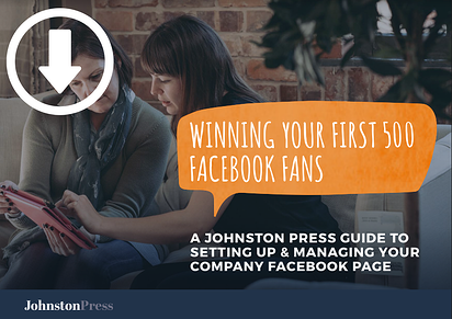 Download your guide to winning your first 500 Facebook fans